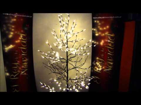 El rey de la navidad arbol minimalista de led premium - Como decorar un arbol de navidad ...
