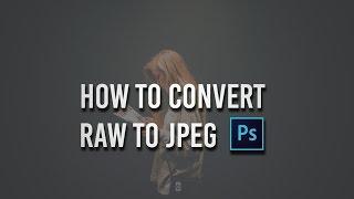 Photoshop cc Tutorial: How to convert RAW to JPEG | Photoshop cc Tips ☑️ screenshot 3