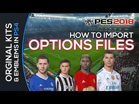 PES 2018 option file patch for PS4 FBNZ 1 0 - Proevopatch