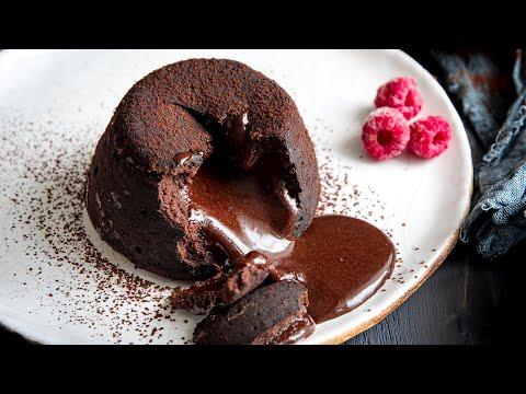 Шоколадный Фондан (Кекс с ЖИДКОЙ НАЧИНКОЙ)🍴Простой рецепт = Идеальный ДЕСЕРТ на 14 февраля