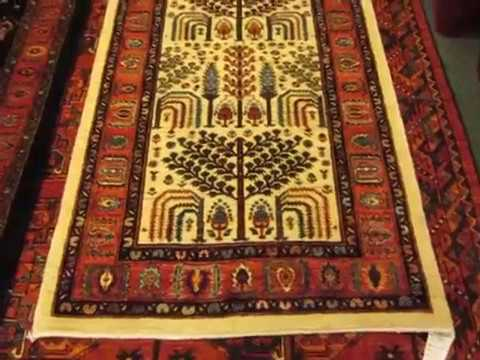 Oriental Rugs In The Tree Of Life Design From Iran And Afghanistan
