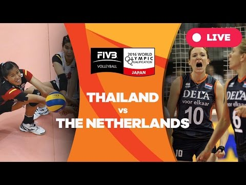 Thailand v Netherlands - 2016 Women's World Olympic Qualification Tournament