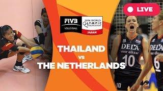 Thailand v Netherlands - 2016 Women