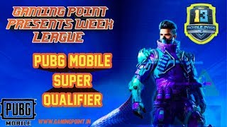 PUBG MOBILE #8 QUALIFIER ROUND 1 Gaming Point Live Stream