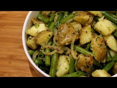 Potatoes and Green Beans Recipe