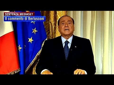 Silvio Berlusconi rages against upheld guilty verdict for tax evasion
