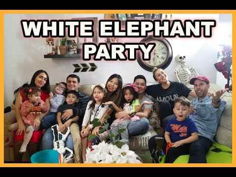 WHITE ELEPHANT GIFT EXCHANGE PARTY!