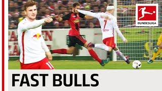 Top 10 Counter Attack Goals RB Leipzig - Werner & Co. with Superfast Transitions