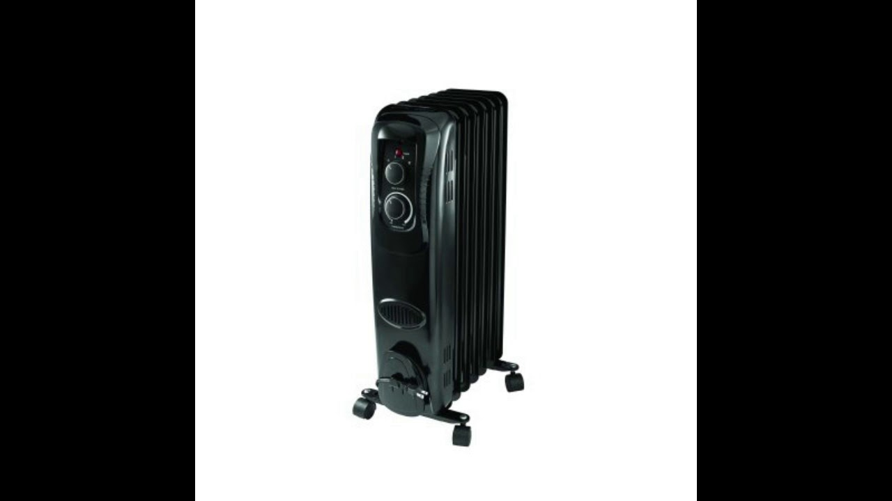 d333d54d6ee Mainstays  Radiator heater review - YouTube