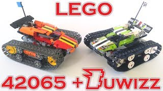 Lego 42065 Updgraded with Buwizz + instructions