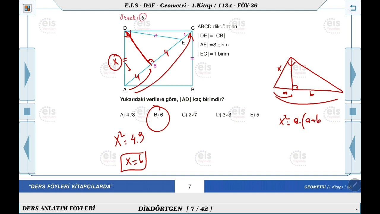 TYT-AYT Geometri Nasıl Çalışılır ? (Geometri Kaynak Önerileri)
