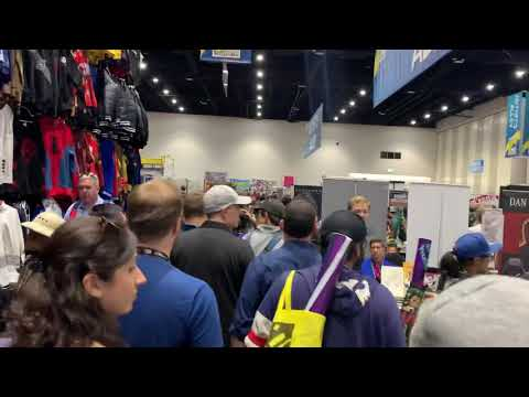 San Diego Comic Con 2019 - MARVEL's Kevin Feige Walks The Exhibit Hall