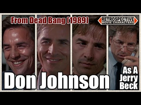 Don Johnson As A Jerry Beck From Dead Bang (1989)