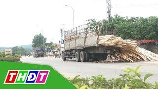 Quảng Ngãi: Người dân chặn xe chở dăm gỗ sau tai nạn chết người | THDT