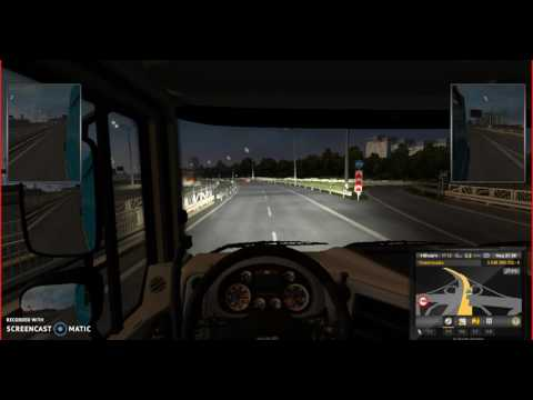 Rebuilt Moscow ring road on Rusmap