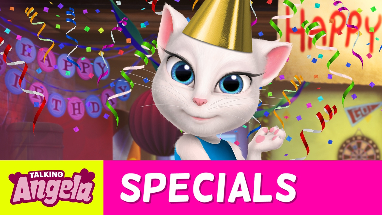 Talking Angela Sings Happy Birthday To Me NEW Song