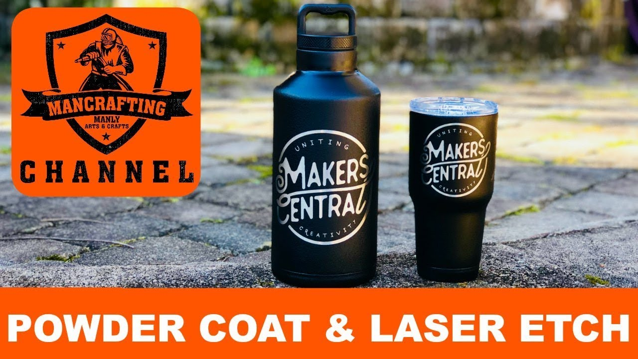 Powder Coat and Laser Tumblers | Makers Central
