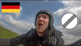 My FIRST TIME riding a MOTORCYCLE IN GERMANY!