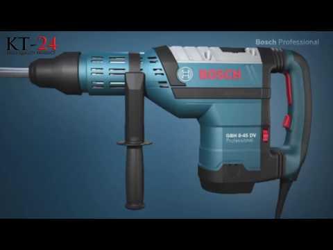 Bosch GBH 8-45 DV - Młot udarowo-obrotowy z uchwytem SDS-max