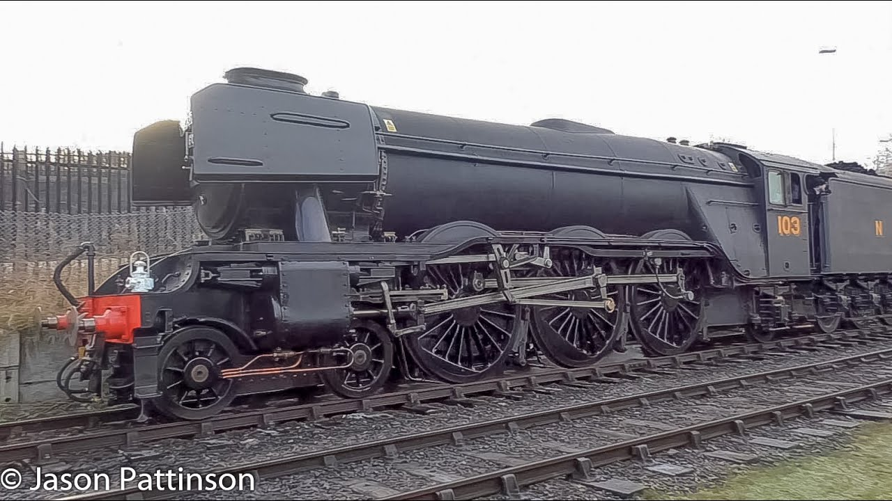 56.5 inch Gauge 60103 Flying Scotsman running at East Lancashire Railway -  LNER A3 4472 Live Steam - YouTube