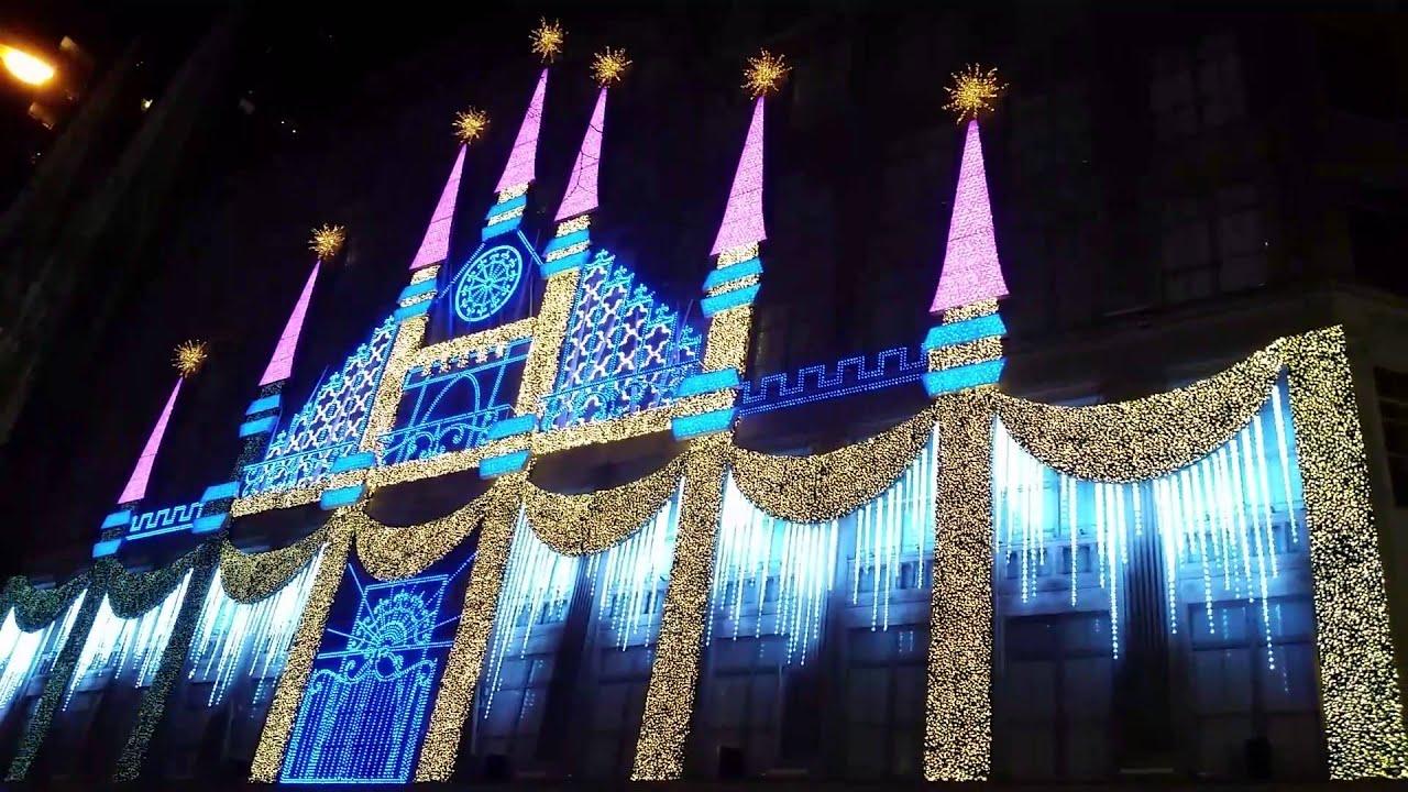 Saks 5th Ave Christmas Display