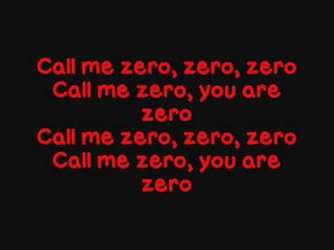 Gerard Way - Zero Zero - LYRICS