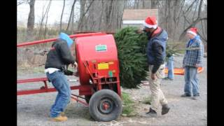 Christmas Tree Farm in Bucks County     Highland Hill Farm