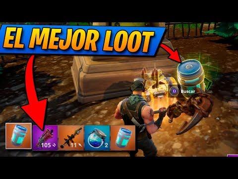EL MEJOR LOOT!! FORTNITE: Battle Royale