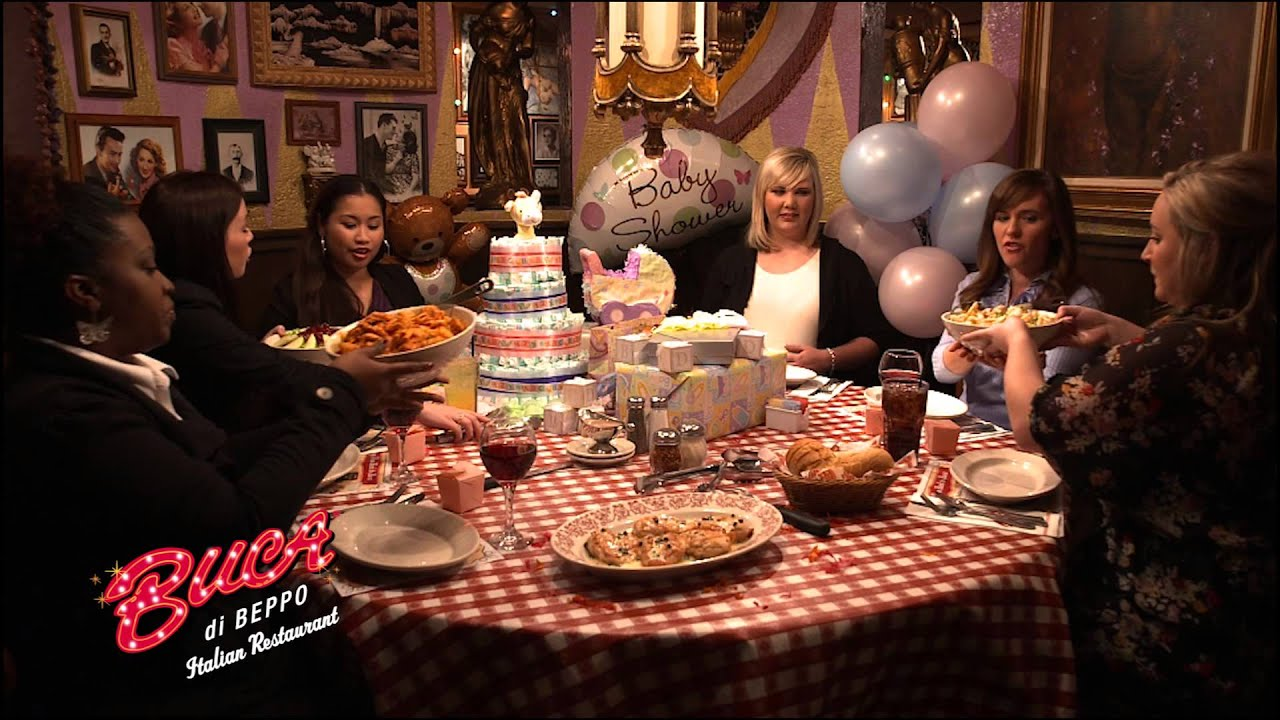 Buca Di Beppo TV Commercial YouTube