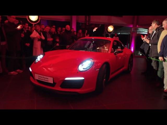 Porsche 911 Reveal Centre Porsche Rennes