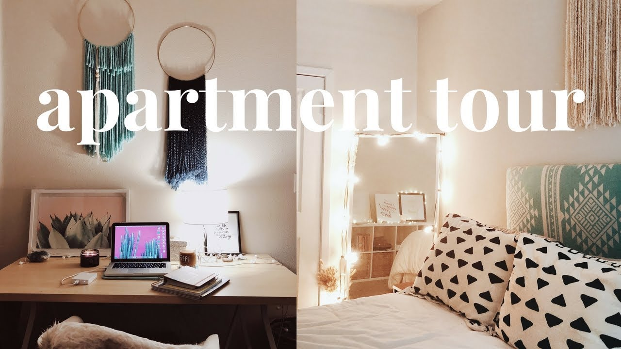 My 2018 Apartment Tour | Mid-Century Modern Meets Scandinavian Hygge ...