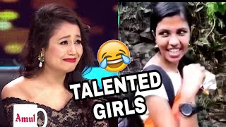 Funniest Girls On Internet    These Girls Are So Talented    kal ka londa