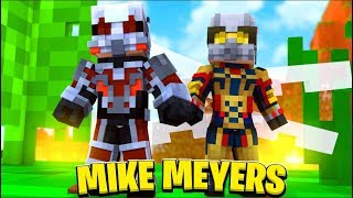 ANT-MAN VS THE WASP MIKE MEYERS W/ FAVREMYSABRE - Minecraft MODDED MINIGAME | JeromeASF