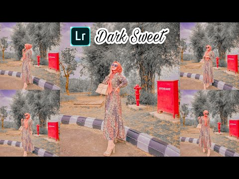 Tutorial Edit Foto Ala Selebgram Filter Dark Sweet | Lightroom Android
