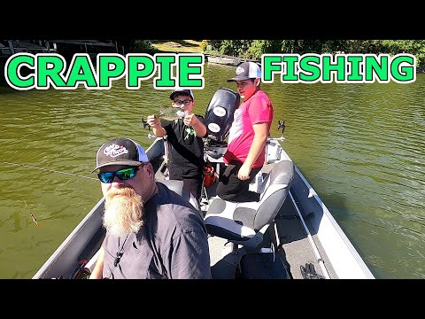 Crappie Fishing With The Kids