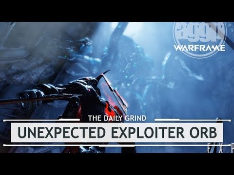 Warframe: The Unexpected EXPLOITER ORB Fight - Uncut [thedailygrind] thumbnail