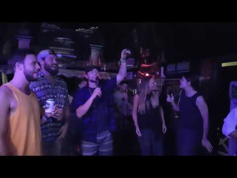 Karaoke singing on Imperial Legend