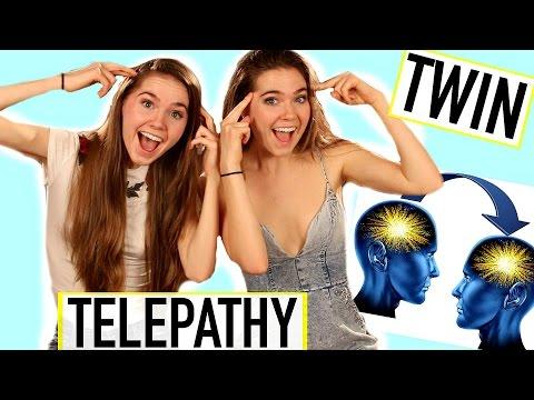 TWIN TELEPATHY CHALLENGE - Nina and Randa