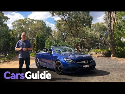 Mercedes-AMG C63 S Cabriolet 2017 review | first drive video