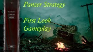 Game exploration Sunday - Panzer Strategy Early access WWII role based game