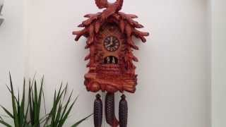Large Schneider 8 Day Musical Cuckoo Clock With Dancers Black Forest Ebay Item No 290989928528