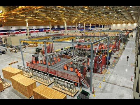Northrop Grummans Award Winning F-35 Integrated Assembly Line