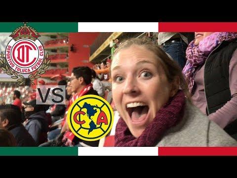Gringos in Estadio Toluca: América vs Toluca ⚽️