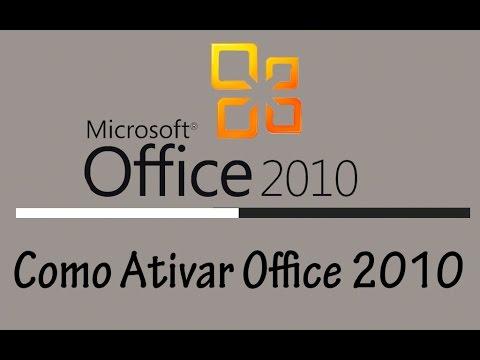 ativar office 2010 pelo telefone