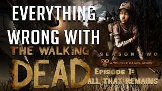 GamingSins: Everything Wrong with The Walking Dead - Season 2 - Episode 1: All that Remains