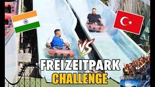 INDER VS. TÜRKE - FREIZEITPARK CHALLENGE 😱🎢 | Good Life Crew