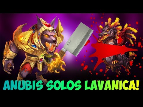 INSANE Anubis Kill VS Lavanica Worth Watching Castle Clash