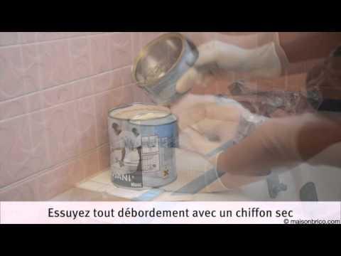 Rénover Une Baignoire Avec De La Résine Youtube