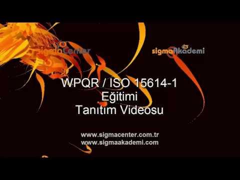 Kaynak Prosedürü Şartnamelerinin Vasıflandırılması (WPQR / ISO 15614-1) Tanıtım Videosu
