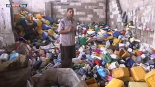 غزة.. مصانع صغيرة لتدوير المخلفات البلاستيكية